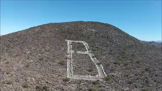 """B"" Mountain in Bouse Arizona"