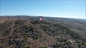 Flag at Bouse AZ