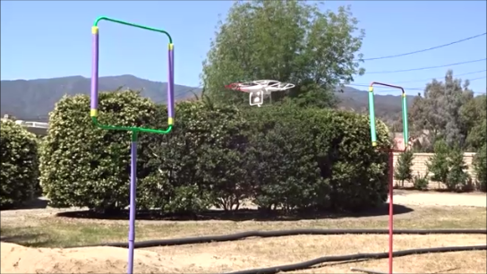 UAV Obstacle Course
