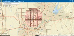 Airport UAS Facility Map Grid