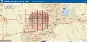 Airport UAS Facility Map Grid
