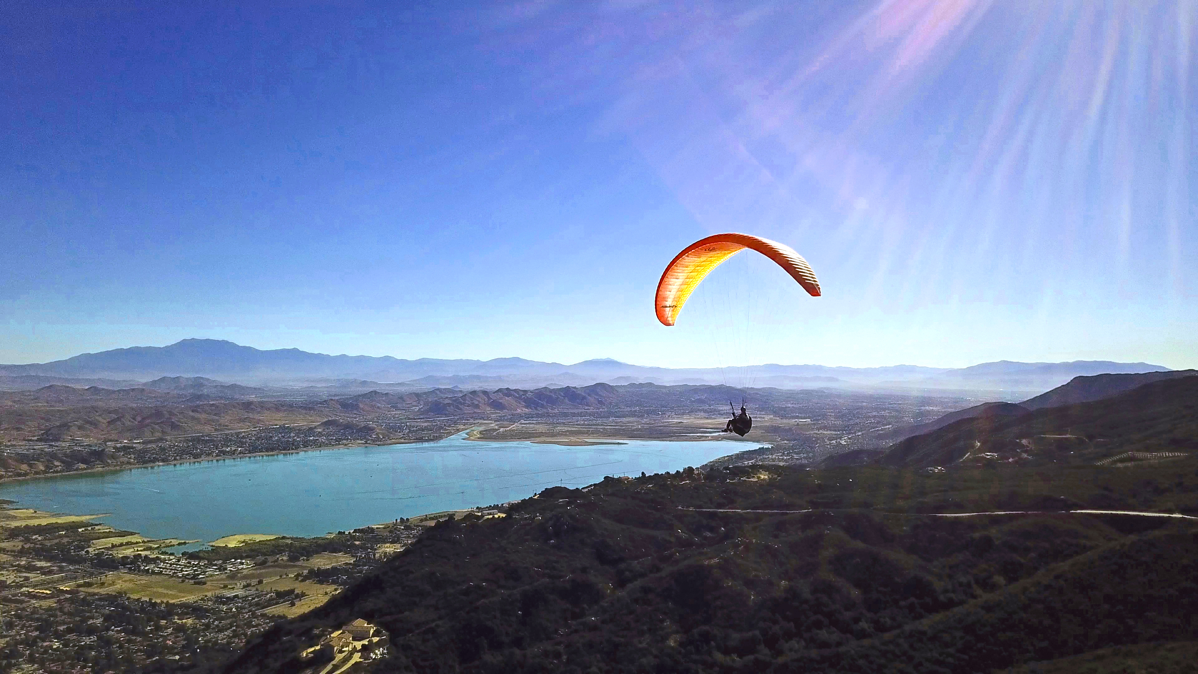 Paragliding Lake Elsinore
