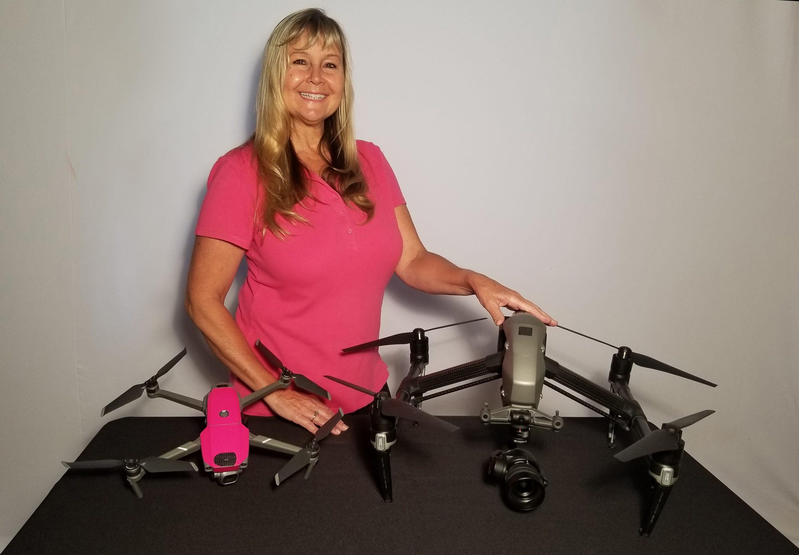 Drone Diva Desi On The Go Video.biz