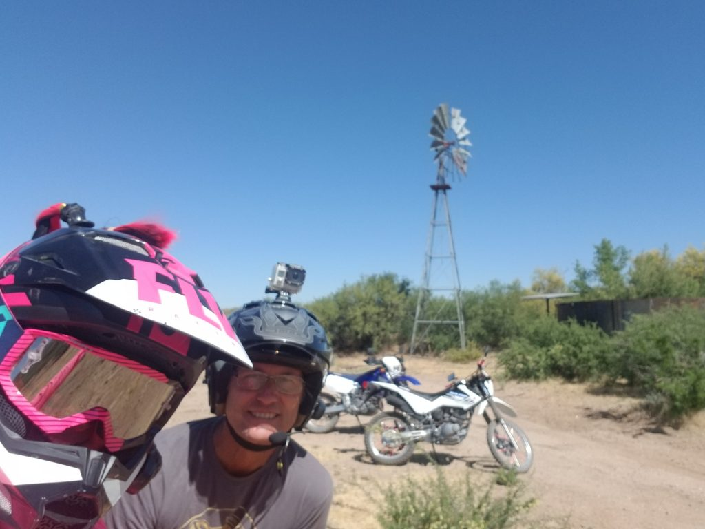 Dirt bikes and Drones